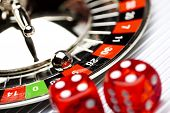 stock photo of poker machine  - Roulette - JPG