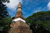 Wat Kalothai Historical Park In Kamphaeng Phet, Thailand (a Part Of The Unesco World Heritage Site H poster