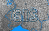 Geographic Information Systems, Gis, Cartography And Mapping. Web Mapping. Gis Day poster