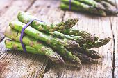 Asparagus Raw Asparagus Fresh Asparagus Green Asparagus poster