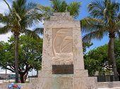 Hurricane Monument poster
