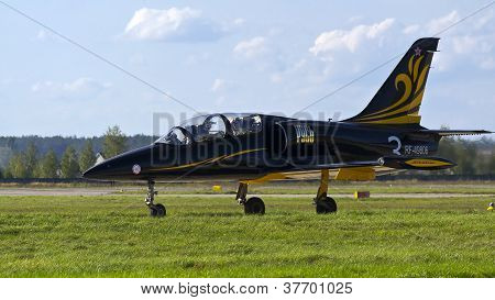 Kyiv, Ukraine - September 29: Russian L-39 During 8Th International Aviation Salon Aviasvit-xxi;sept