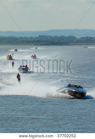 Waterski racing Weston-super-Mare