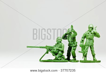 The Toy Soldier Troop