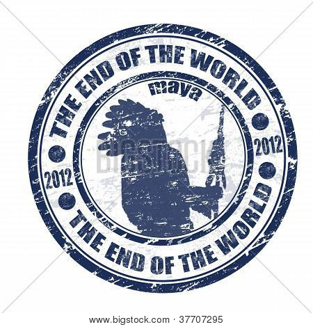 The End Of The World Stamp