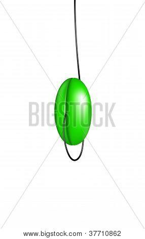 Green yo yo
