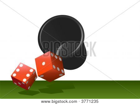 Red Dice - Shanken And Rolled
