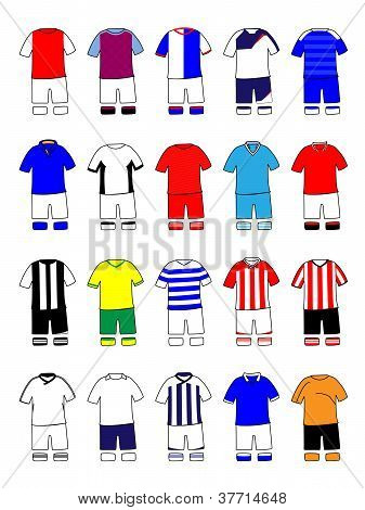 English League Kits 2011/2012