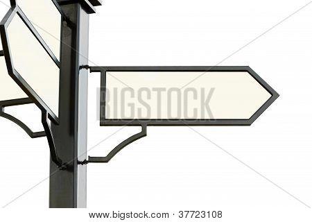 pedestrian pathway panel
