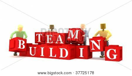 Team building blocks