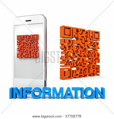 Qrcode Mobile Phone Information