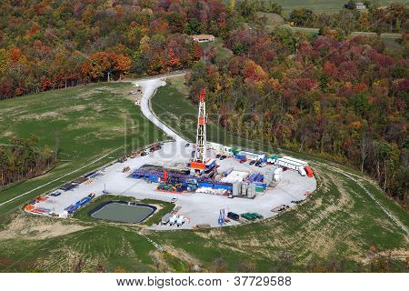 Natural Gas Drilling Rig