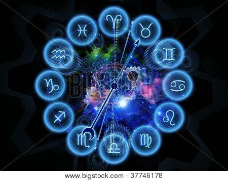psychedelische Sternzeichen