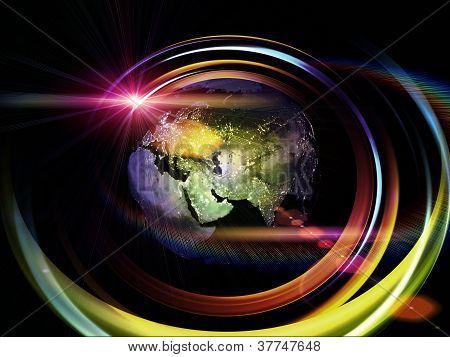 Earth Trails Background