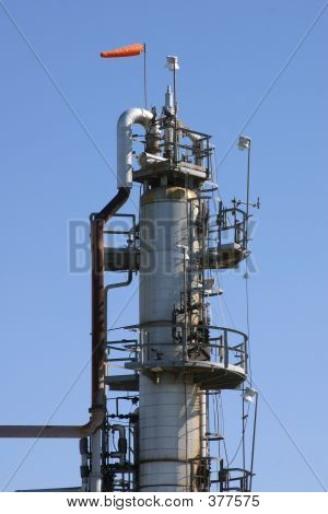 Oil Refinery Tower