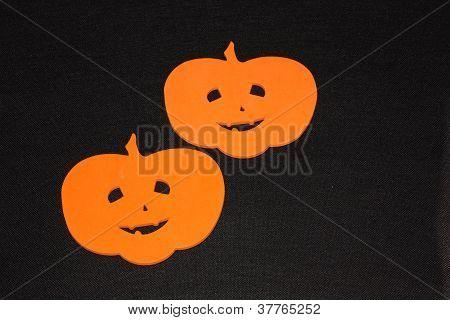 Two Pumkin Heads