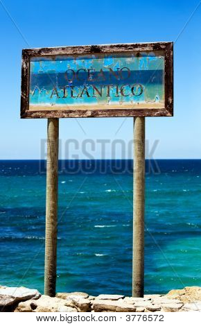 Sign Oceano Atlantico