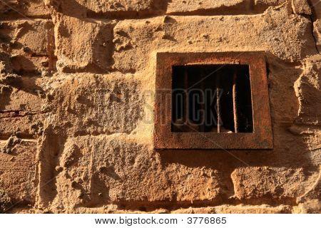 Rusty Ventilation Grid.