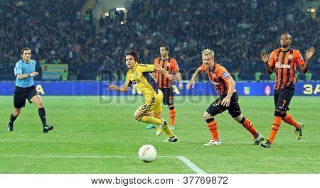 Metalist Kharkiv Vs Shakhtar Donetsk Football Match