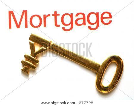 Gold Yen Mortgage Key