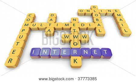 Crossword Of Internet