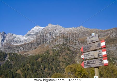 Alpe Devero alpine Landschaft