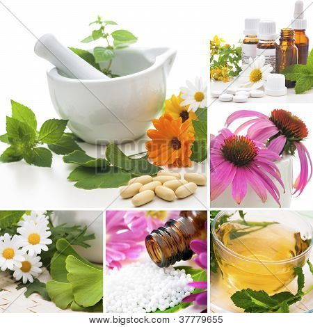 Homeopathie Collage