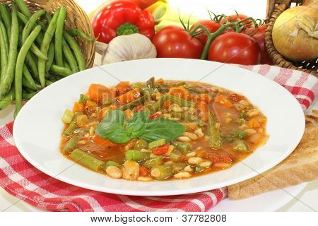 Minestrone With Leeks