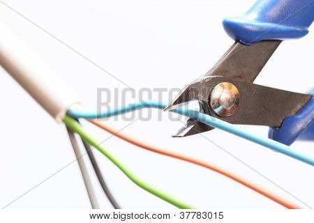 cutting wires