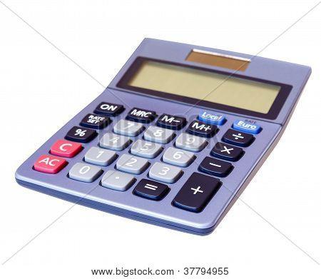Calculator Isolated White Background