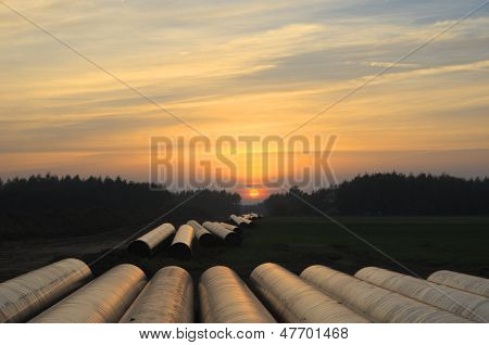 Building Of Pipeline