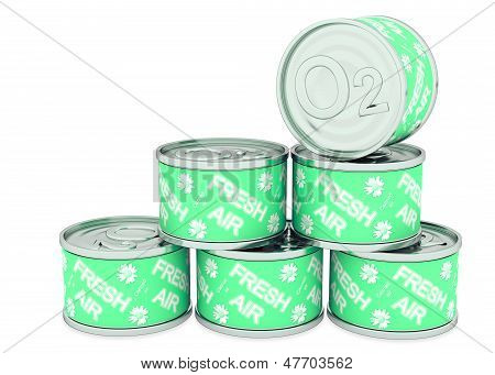 Canned Oxygen Green Label, Fresh Air