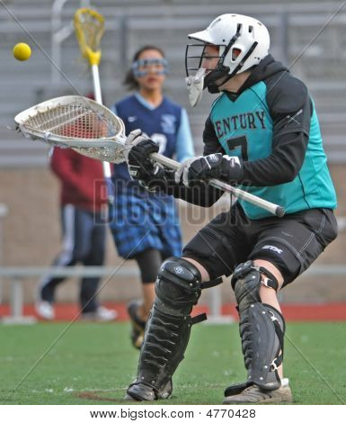 Girls Hs Varsity Lacrosse Goalie