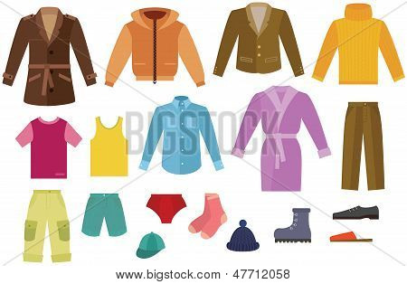 Color Mens Clothing Collection