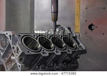 Production Of Automotive Engine
