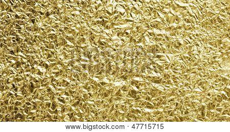 Golden Foil Background