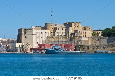 Panoramic view of Brindisi. Puglia. Southern Italy.