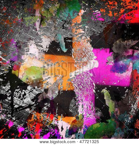 graffiti paint background