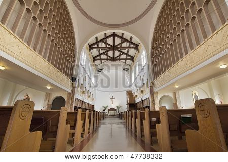 Mt Angel Abbey Church Interior