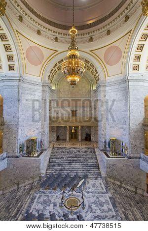 Washington State Capitol Rotunda Chandelier
