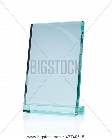 Blank Glass Award