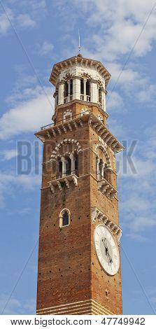 Clocktower Of San Zeno