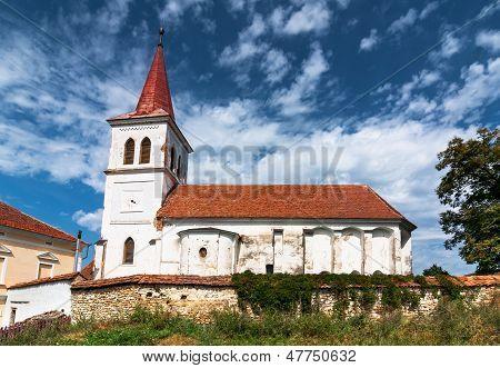 Saxon Fortified Church In Transylvania, Romania