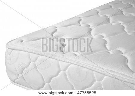 Orthopedic mattress. Isolated