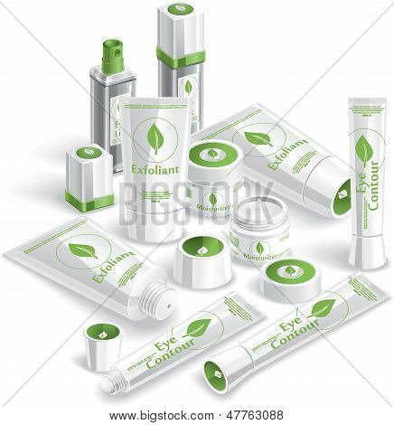 White Cosmetics Array