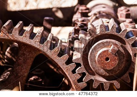 Heavy industrial gears
