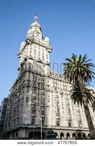Salvo Palace In Montevideo, A National Icon Of Uruguay