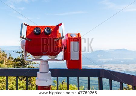 Tourism Binocular From Fuji San