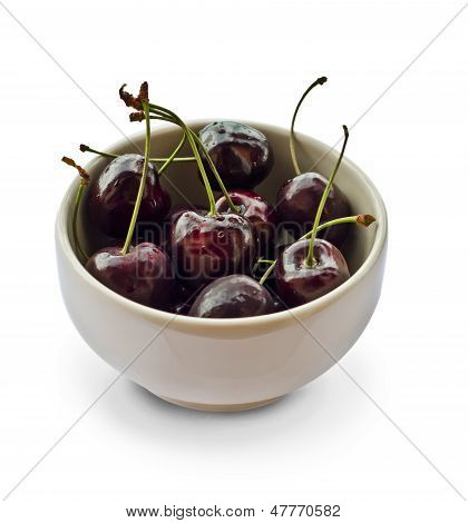 Mug With Cherries