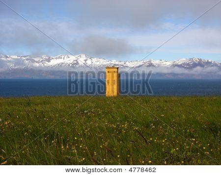 Watch Tower Near Húsavík, Iceland